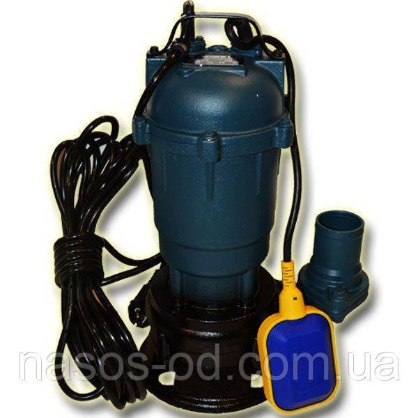 Канализационный насос фекальный Delta для выгребных ям 1.1кВт Hmax10м Qmax200л/мин