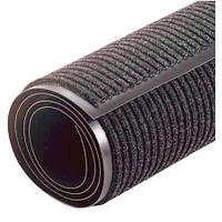 Грязезащитный коврик Дабл Стрип, в Рулоне ширина 90 см, серый.