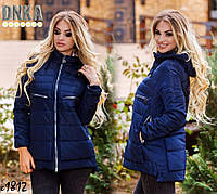 Куртка женская весна-осень норма+батал