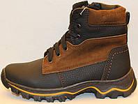 Зимние ботинки для подростка, подросток детская зимняя обувь от производителя модель ВИ126БП