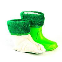 417062 вставка для сапог зеленый, фото 1