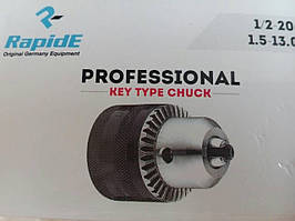 Патрон для дрелей и шуруповертов c ключом 1/2-20UNF 1.5-1.3mm