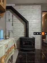 Чугунная печь KRATKI KOZA K9 Ø150 Монтаж печи в Одессе от компании Saven (мастер Сергей)