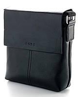 Мужская кожаная сумка барсетка планшет ST