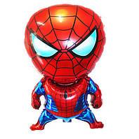 Фольгированный шарик Человек Паук большой 80*50см