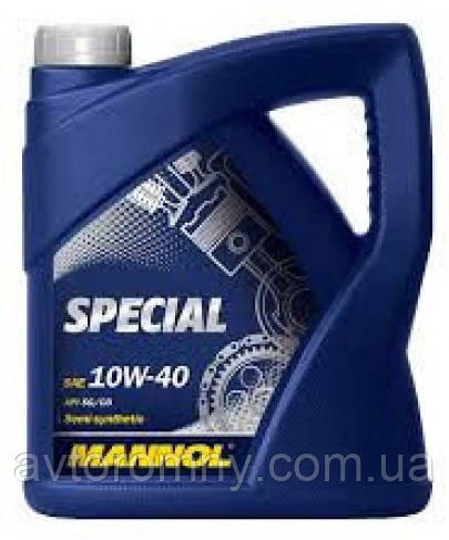 Масло моторное Mannol Special 10W40 5л