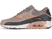 Женские кроссовки Nike Air Max 90 Iron\Red Bronze