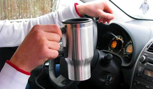 Термокружка автомобильная с подогревом