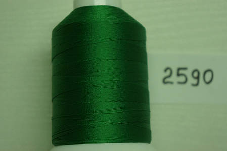 Нить Титан №20 2000 м. Италия цвет (2590) світлозелений, фото 2