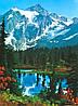 Фотообои на стену Горный пейзаж, 183х254 см