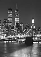 Фотообои на стену Бруклинский мост, 183х254 см