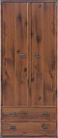 Шкаф для одежды BRW Indiana JSZF 2d2s