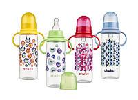 Бутылочка для кормления пластиковая с соской 250мл.