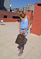 Стильный Рюкзак LV Louis Vuitton  (реплика Луи Витон) Vintage Brown