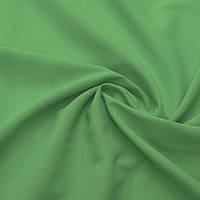 Однотонный шифон Зелёный лесной