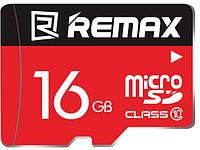 Карта памяти Remax microSDHC Class 10 UHS-I 16 Gb