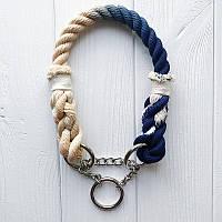 Jolly - Веселый (плетеный ошейник для собак)