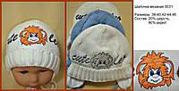 Зимняя вязанная шапочка Leo
