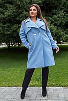 Привлекательное женское пальто на осень