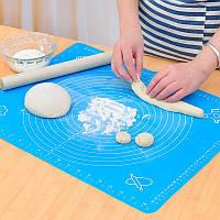 Силиконовый коврик для раскатки теста. Хорошее качество. Удобный и практичный коврик. Купить. Код: КДН2258