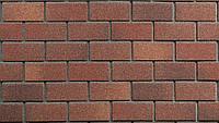 Фасадная плитка TECHNONICOL HAUBERK, цвет терракотовый кирпич