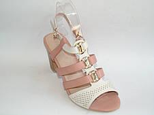 """Босоножки женские каблук """"Lilin shoes"""" LiL LJ8037 ВСЕ РАЗМЕРЫ"""