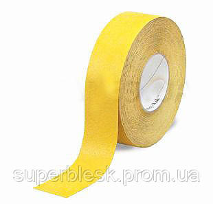 Противоскользящая лента 3M Safety-Walk 630 универсальная, средняя зернистость, желтая, 51 мм.