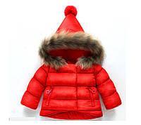 Куртка зимняя Очарование (красн) 120
