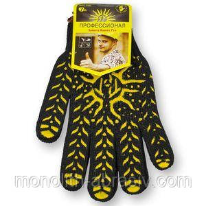 Перчатка  с ПВХ - рис.