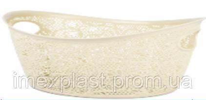 Корзина для белья ОВАЛ TP-8054 9л