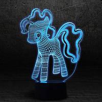 "3D Ночник , Светильник, LED лампа - ""My Little Pony"""