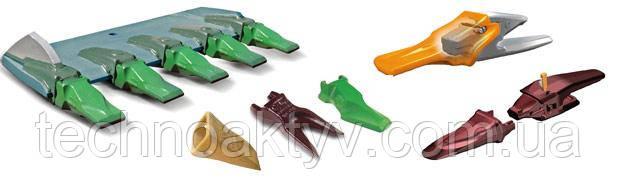 Коронки ковша для экскаватора, адаптеры и системы зубьев для ковшей и рыхлителей