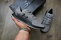 Кроссовки Under Armour grey/black. Живое фото. Топ качество! (Реплика ААА+)