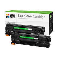 Картридж CW (CW-C725FM) Canon LBP-6000/6020/MF3010 Black (аналог CE285A/Canon 725) Dual Pack