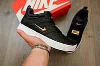Кроссовки Nike Tiempo Vetta black. Живое фото. Топ качество! (Реплика ААА+)