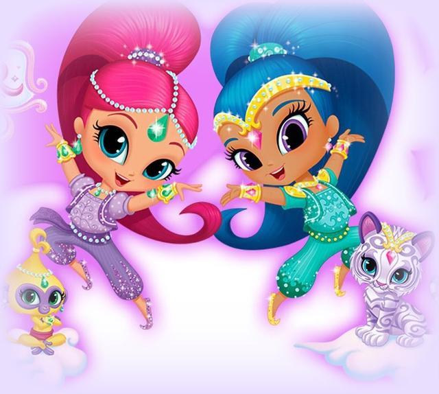 детский праздник шиммер и шайн аниматорі киев