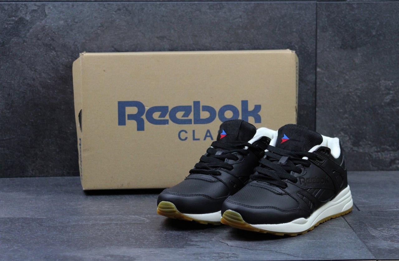 33fccff04933cd Чоловічі кросівки Reebok Hexalite Ventilator чорні з білим - Камала в  Хмельницком