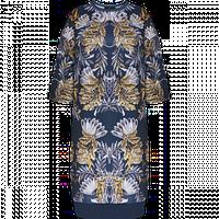 Платье Faberlic из неопрена с орнаментом Пальметта, цвет темно-синий р. 40