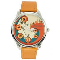 Наручные дизайнерские часы Велосипеды, фото 1