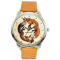 Наручные дизайнерские часы Лисицы, фото 1