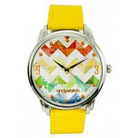Наручные дизайнерские часы Зигзаги, фото 1