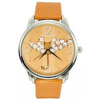 Женские дизайнерские часы Котик с птичками, фото 1