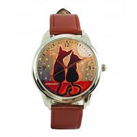 Наручные дизайнерские часы Котики, фото 1