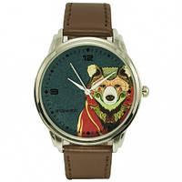 Наручные дизайнерские часы Медведь, фото 1
