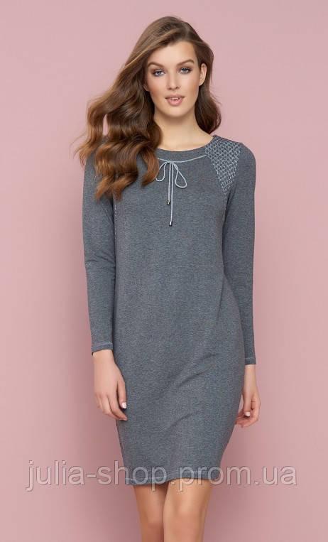 12db4adc26195e Zaps осінь-зима 2017-2018 плаття SINI 021 сірий - Интернет магазин одежды и