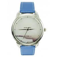 Наручные дизайнерские часы на узком ремешке AW 046