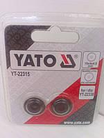Ролики YATO для труборезов ручных 18x4x4.8 мм.
