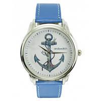 Наручные дизайнерские часы Якорь, фото 1