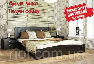 Ліжко дерев'яна Селену Аури