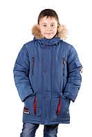 Детская зимняя курточка для мальчика